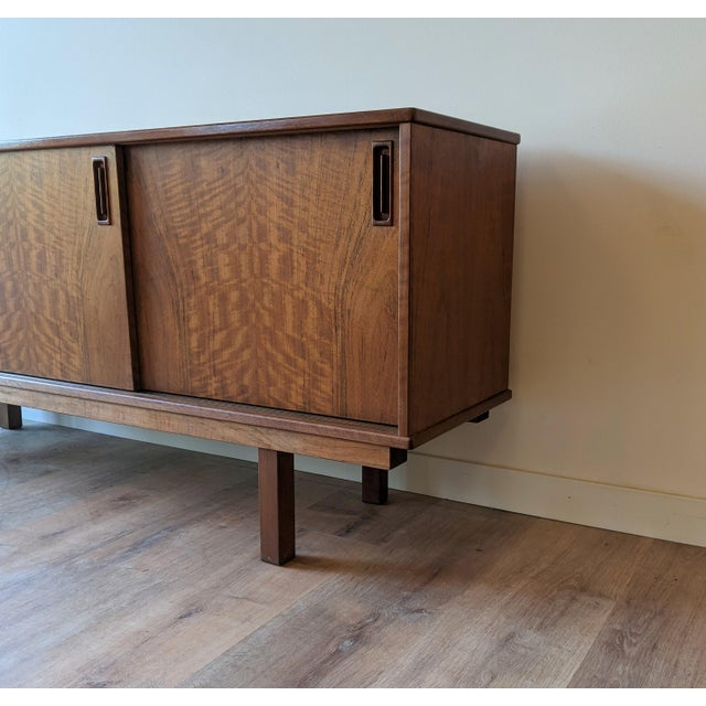 1960's Dyrlund Teak 3-Door Credenza/Sideboard For Sale In Seattle - Image 6 of 13