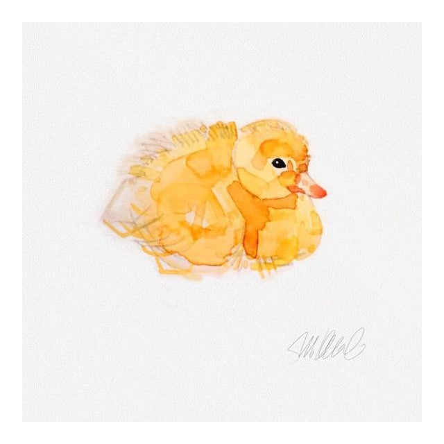 Resting Duckling Print - Image 1 of 3