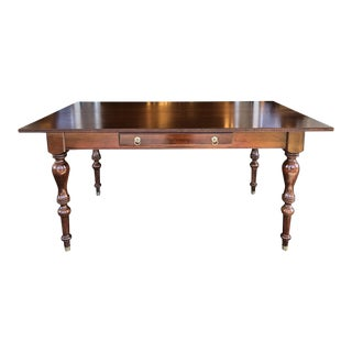 British Classics Convertible Console+Table by Ethan Allen For Sale
