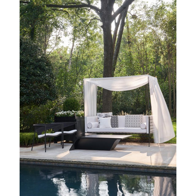 Janus et Cie Amalfi Daybed (2 available) Create a romantic outdoor retreat in your back yard or porch with this gorgeous...