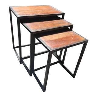 Mid-Century Modern Jackson Nesting Tables - Set of 3 For Sale