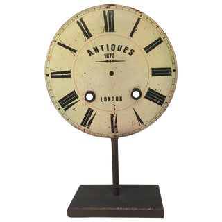 Clock Face Decor Item For Sale