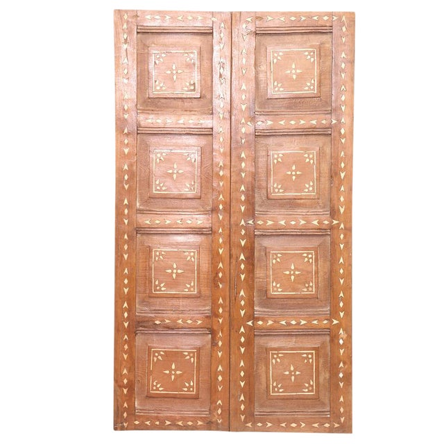 Antique Bone Inlay Door For Sale