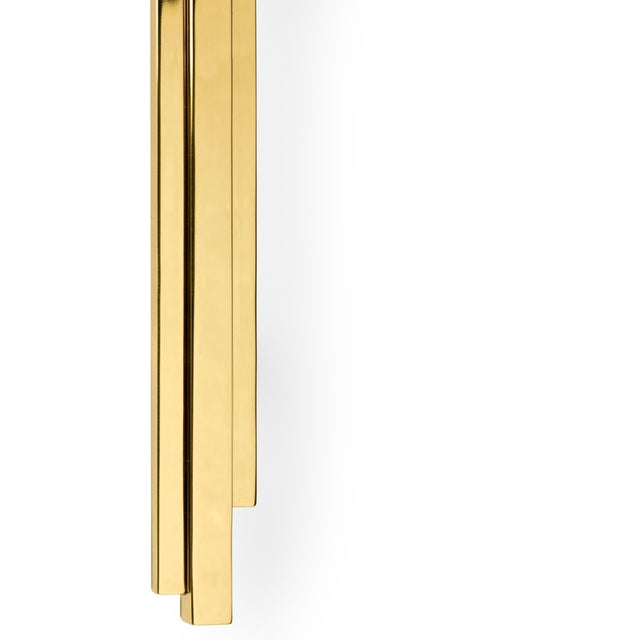 Covet Paris Skyline Cm3014 Door Pull For Sale - Image 4 of 6