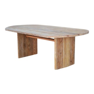 Petersen Antiques Reclaimed Pine Dining Table For Sale