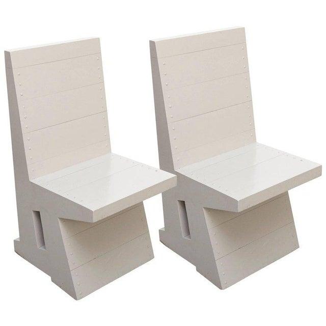 Dom Hans van der Laan Pair of Easy Chairs - Image 11 of 11