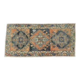 """Hand Knotted Mat Small Oushak Rug - 1'6"""" X 3'1"""" For Sale"""