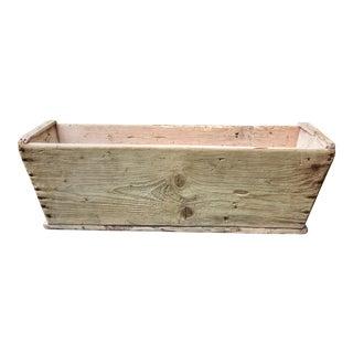 Antique French Wooden Harvest Bin For Sale