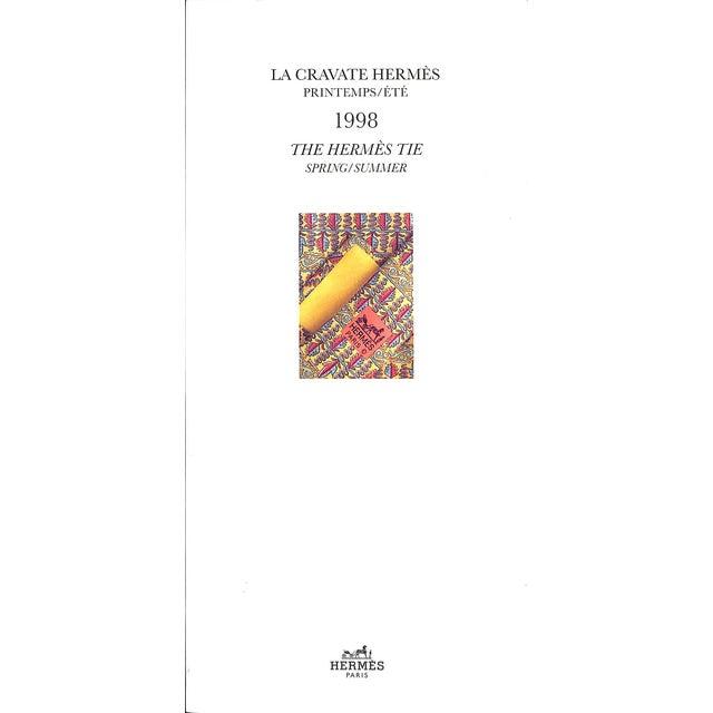La Cravate Hermes Printemps/Ete: The Hermes Tie Spring/Summer 1998 For Sale - Image 4 of 4