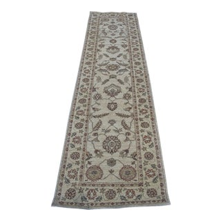 """Traditional Oushak Peshawar Wool Runner Rug- 2'8"""" X 9'8"""""""