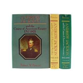 Vintage Andrew Jackson Books - Set of 3 For Sale