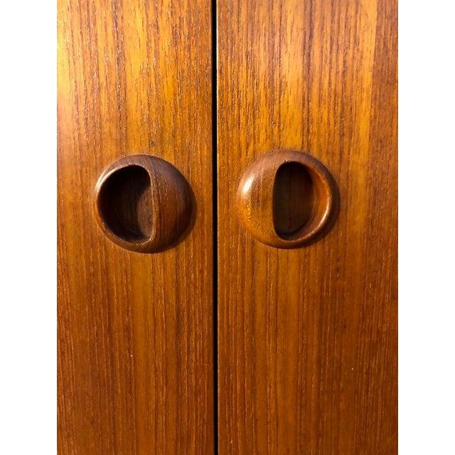 1960s Danish Modern Teak Cabinet/Credenza 1960's For Sale - Image 5 of 7