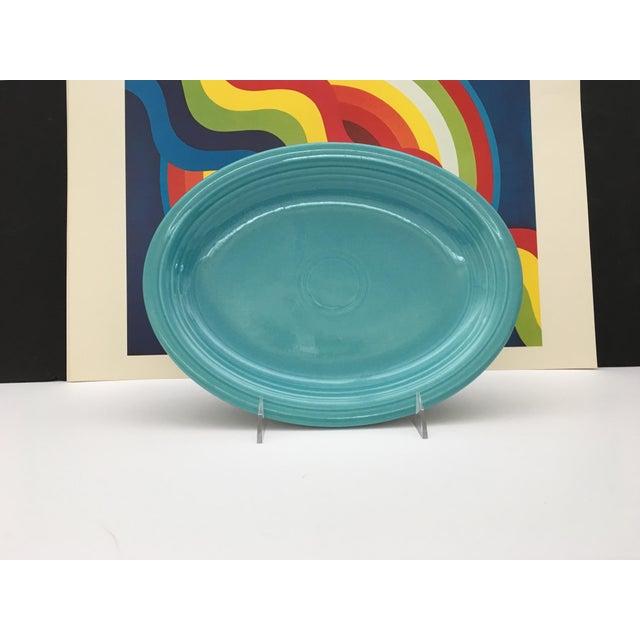 Vintage Mid-Century Fiesta Fiestaware Platters - Set of 3 For Sale - Image 4 of 10