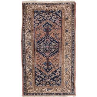 "Antique Hamadan Rug, 3'5"" x 6' For Sale"