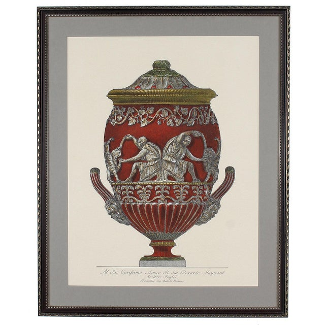 Neoclassical Framed Italian Piranesi Prints - a Pair For Sale - Image 3 of 11