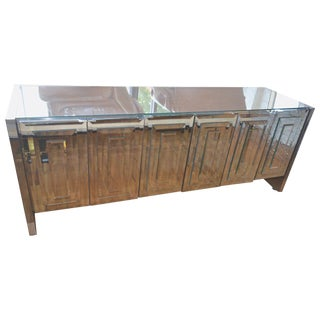 Ello Mirrored Credenza For Sale