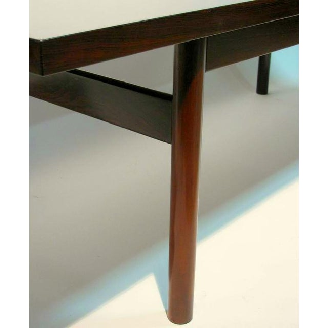 Modern Rosewood Coffee Table with Extending Top - Image 6 of 8