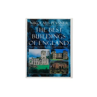 The Best Buildings of England by Nikolaus Pevsner For Sale