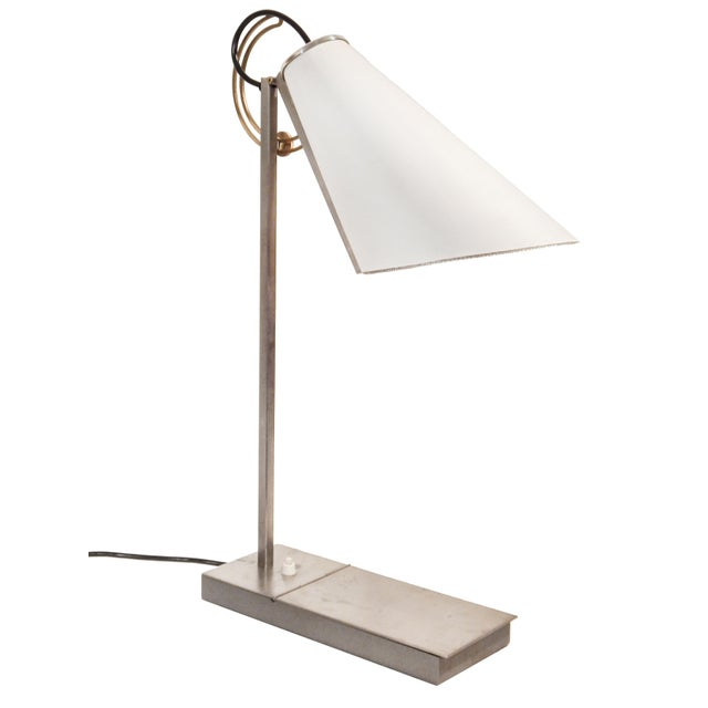 Contemporary Compass Dans L'Oeil Desk Lamp by Andree Putman For Sale - Image 3 of 12