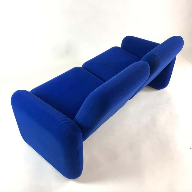 "Iconic Modern Design 1970s ""Chiclet"" Sofa Settee by Ray Wilkes for Herman Miller For Sale - Image 9 of 13"