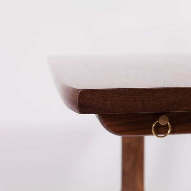 Maple Asa Pingree Physalia Desk in American Walnut For Sale - Image 7 of 9