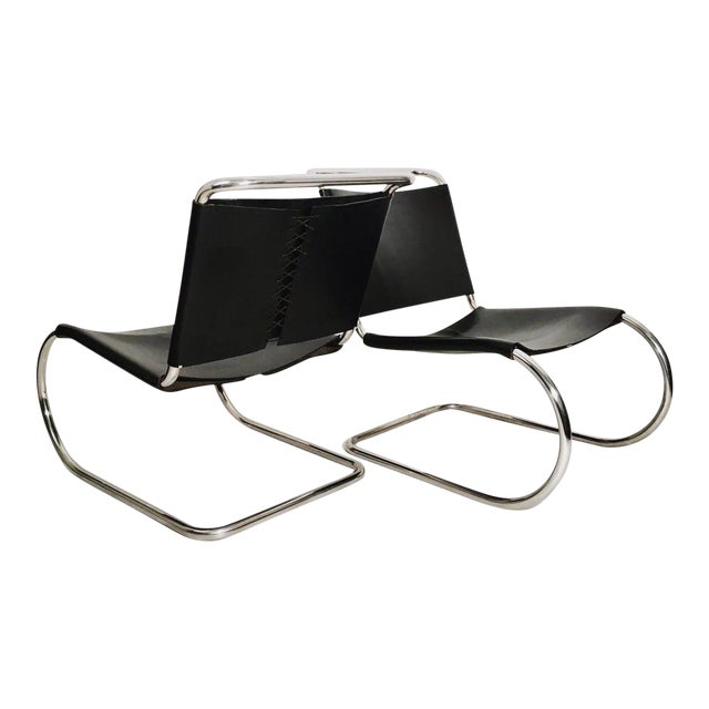 Pair of Mies Van der Rohe MR Lounge Chairs For Sale