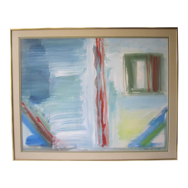 Abstract Painting, Signed Davidoff For Sale