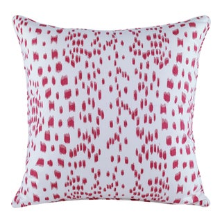 Curated Kravet Les Touches Pillow - Pink For Sale