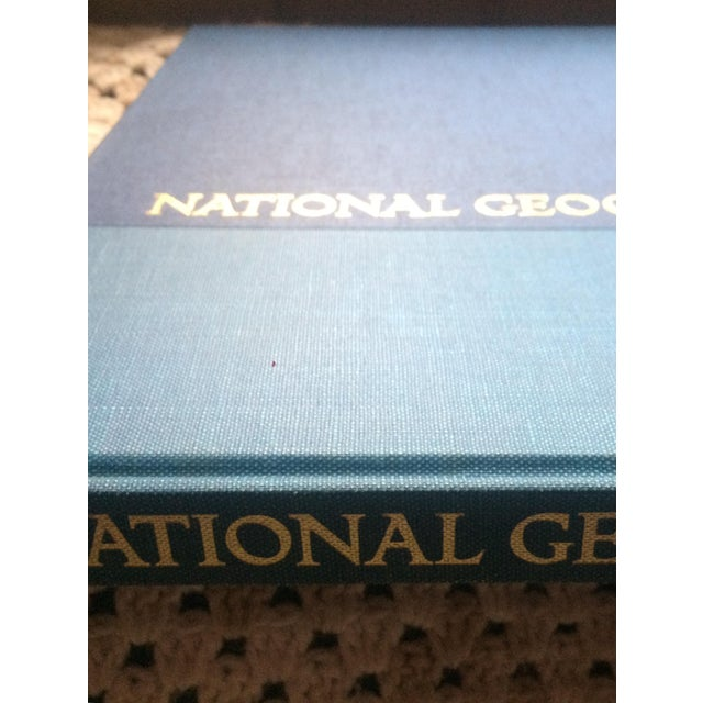 This is the FIRST National Geographic Atlas ever produced and published in 1963. It is in the Deluxe version in a...