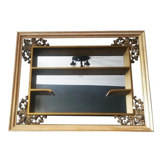 Turner Mid Century Mirror Shadow Box For Sale