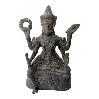 Thai Bronze Statue of Guman Thong For Sale