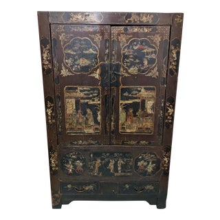 20th Century Asian Cabinet Armoire For Sale
