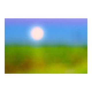 "Cheryl Maeder ""Sugarcane Moon"" Photographic Watercolor Print"