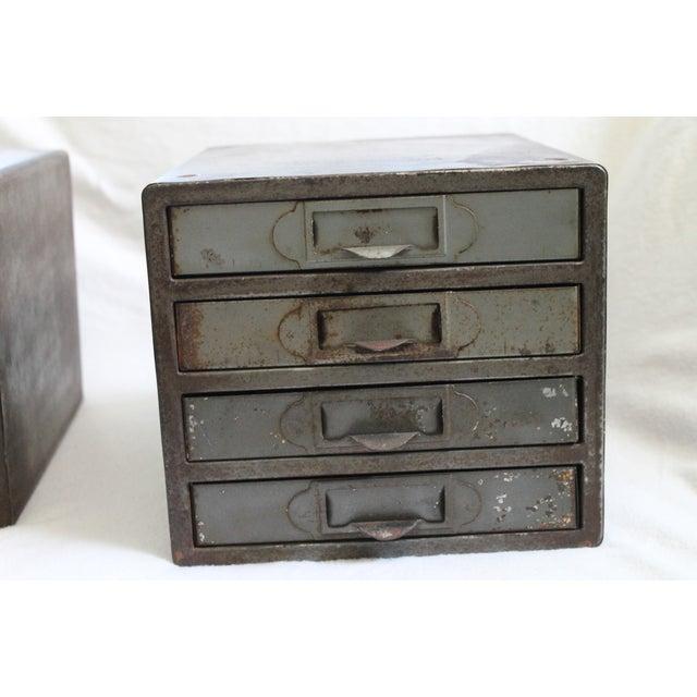 Industrial Metal Storage Desktop Cabinets - Image 5 of 11