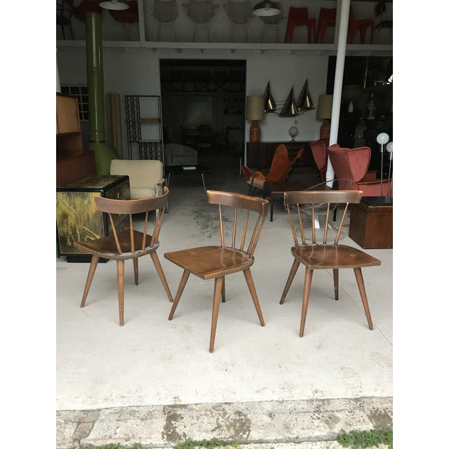 1960s S/3 Paul McCobb Planner Group Dining Chairs For Sale - Image 5 of 13