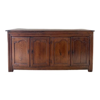 Antique French Wooden Sideboard For Sale