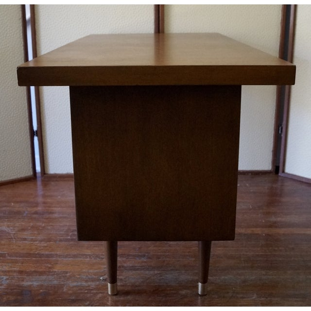 Barzilay Mid-Century California Modern Desk - Image 7 of 11