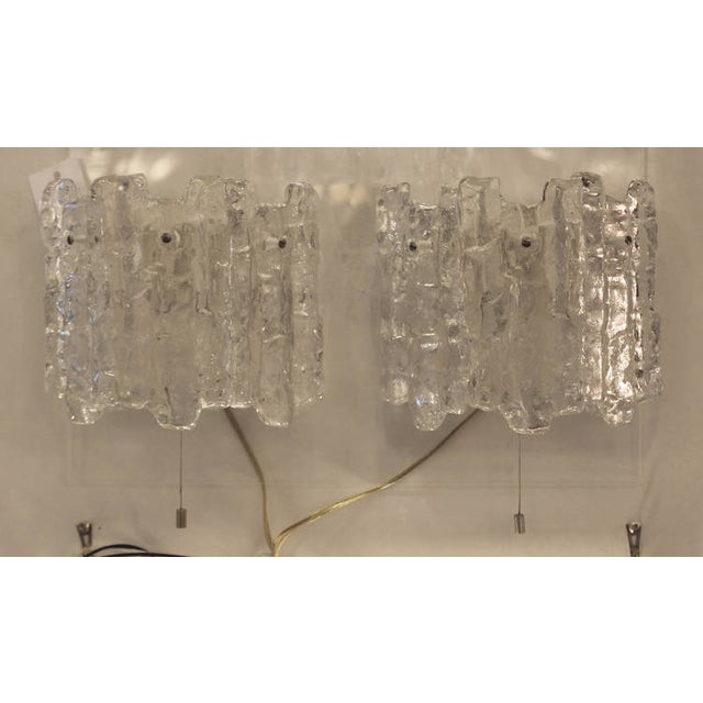 1960s Pair of Kalmar Icicle Sconces For Sale - Image 5 of 6