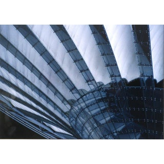 Soaring Architectural Abstract 1970s Color Photograph For Sale