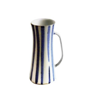 1952 Early Blue & White Stein by Weston Neil Andersen For Sale