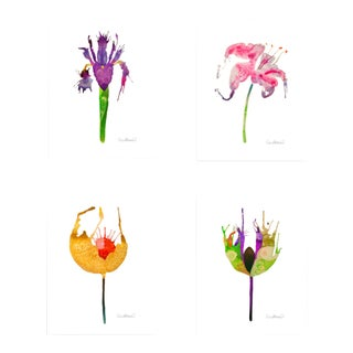 Premium Giclee Print Of Botanical Grouping - Set of 4 For Sale