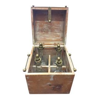 Old Spirits Box & Bottles