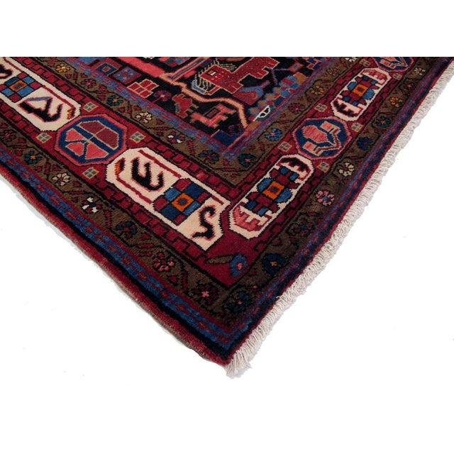 """Vintage Persian Nahavand Rug - 5'5"""" X 10'0"""" - Image 3 of 3"""
