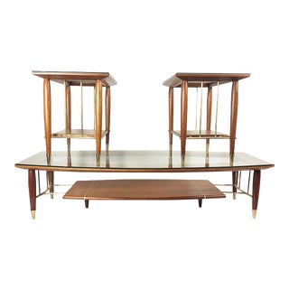 Fantastic Set of Tables Designed by Frank Kyle - 3 Pieces For Sale