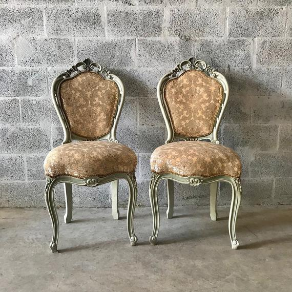 1900s Vintage Louis XVI Chairs- A Pair For Sale - Image 11 of 11