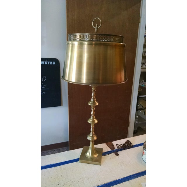 Vintage Brass Table Lamp - Image 2 of 6