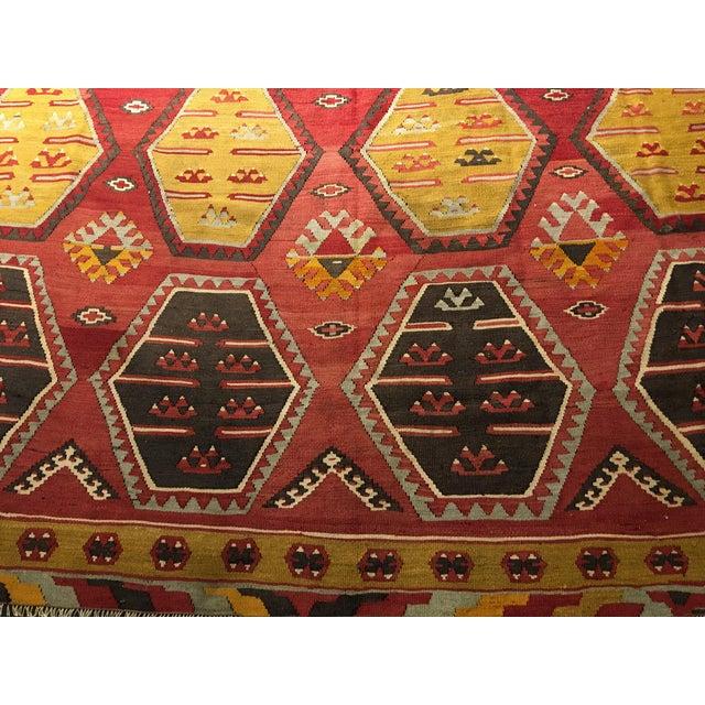 """Bellwether Rugs Vintage Turkish Kilim Rug - 8'8"""" x 11'2"""" - Image 3 of 9"""