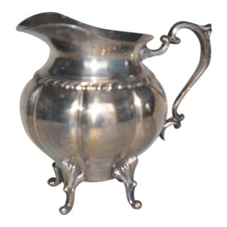 1940s Sheridan Silver-Footed Pitcher For Sale