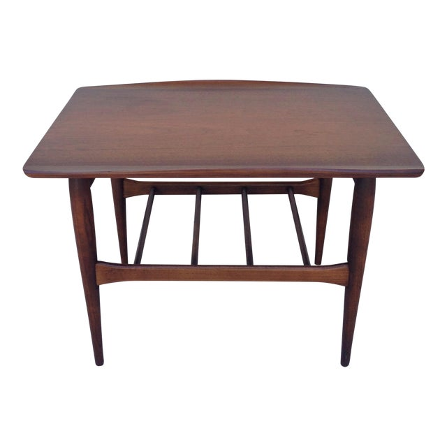 Danish Mid Century Modern Surfboard Side Table - Image 1 of 7