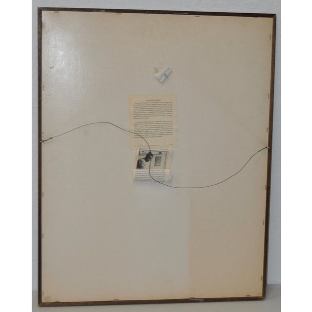 Jean-PIerre Alaux Original Lithograph C.1970 - Image 8 of 9